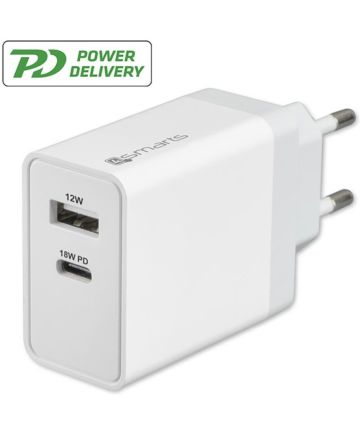 4smarts Powerplug Wall Charger 2A Wit