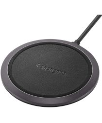 Spigen Essential Wireless Fast Charger F308W Zwart
