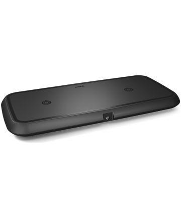 ZENS Dual Smartphone QI Draadloze Oplader Zwart