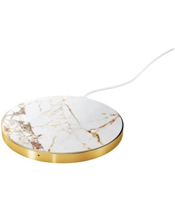 iDeal of Sweden Draadloze Oplader 10W Carrara Gold