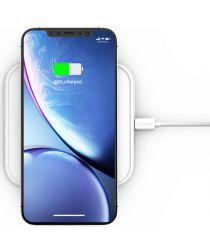 ZENS Aluminium Series Single Smartphone QI Draadloze Oplader Wit