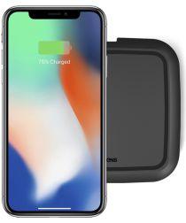 ZENS Single Smartphone QI Draadloze Oplader Zwart