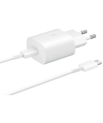 Samsung EP-TA800 Fast Charge USB-C Oplader Wit Opladers