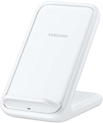 Originele Samsung Wireless Charging Stand Fast Charge Oplader Wit Opladers