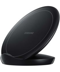 Samsung Wireless Charger Stand Fast Charge Oplader 9W Zwart