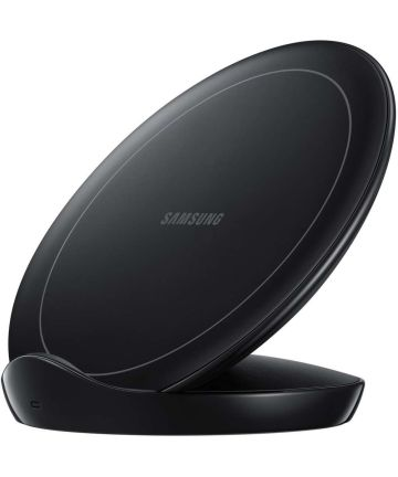 Samsung Wireless Charger Stand Fast Charge Oplader 9W Zwart Opladers