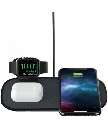 Mophie 3-in-1 Apple Watch - Airpods - iPhone Draadloze Oplader Zwart