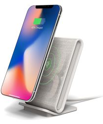 iOttie iON Wireless Stand Fast Charge Draadloze Oplader Licht Grijs