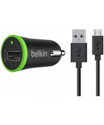 Belkin BOOST UP Universele Auto Lader met Micro-USB Kabel Zwart
