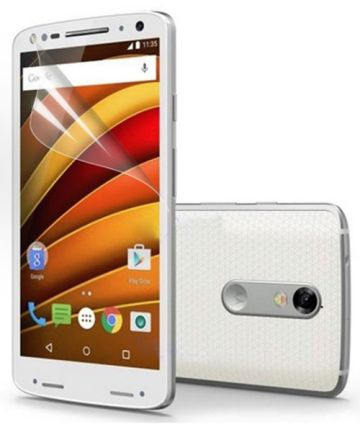 Motorola Moto X Force Display Folie Screen Protector