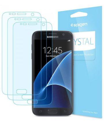 Spigen Crystal Screen Protector Samsung Galaxy S7 3 Pack