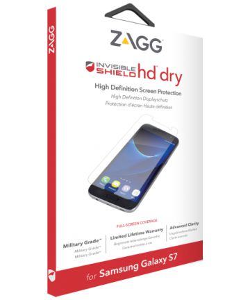 ZAGG InvisibleShield HD Dry Screen Protector Samsung Galaxy S7