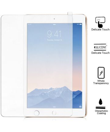 Tempered Glass Screenprotector Apple iPad 9.7 2017 / 2018 / Air (2)