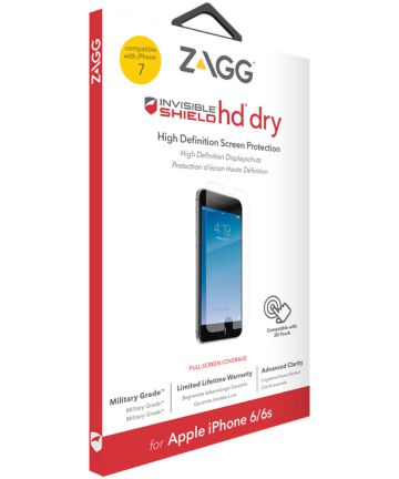 ZAGG InvisibleShield HD Dry Screen Protector Apple iPhone 8 / 7 / 6(s)
