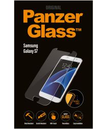 PanzerGlass Samsung Galaxy S7 Case Friendly Screenprotector Zwart