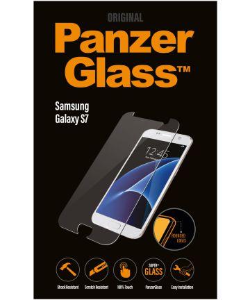 PanzerGlass Samsung Galaxy S7 Case Friendly Screenprotector Zwart
