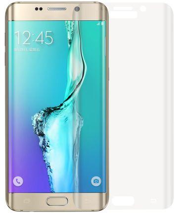 Samsung Galaxy S6 Edge Volledig Dekkende Transparante Tempered Glass
