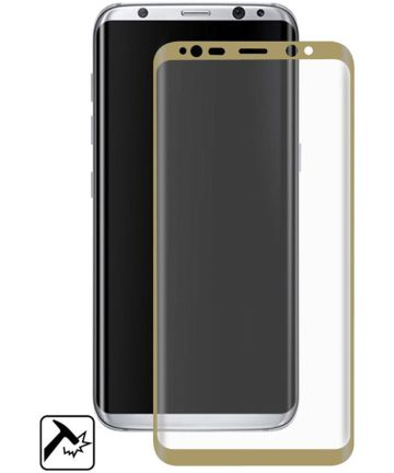 Samsung Galaxy S8 Tempered Glass Screen Protector Goud