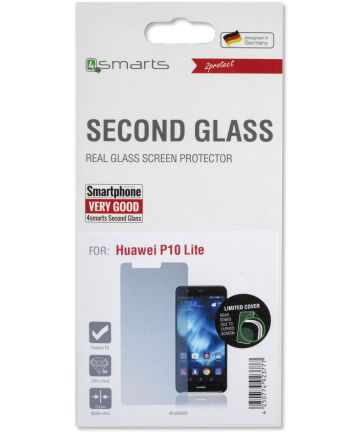 4smarts Huawei P10 Lite Tempered Glass Screen Protector