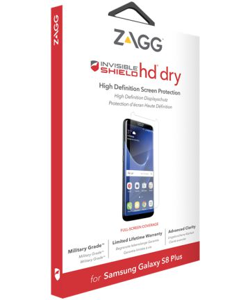 InvisibleSHIELD HD Dry Screen Protector Samsung Galaxy S8 Plus