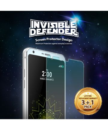 Ringke Invisible Defender Screen Protector LG G6