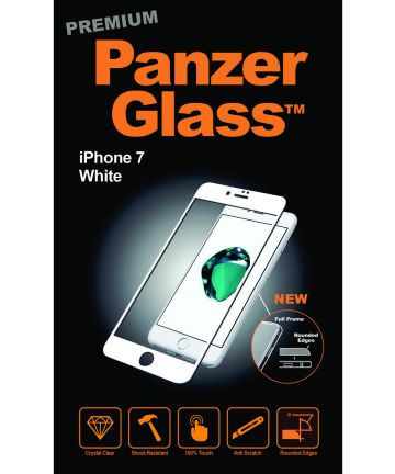 PanzerGlass Apple iPhone 8/7/6(s) Case Friendly Screenprotector Wit