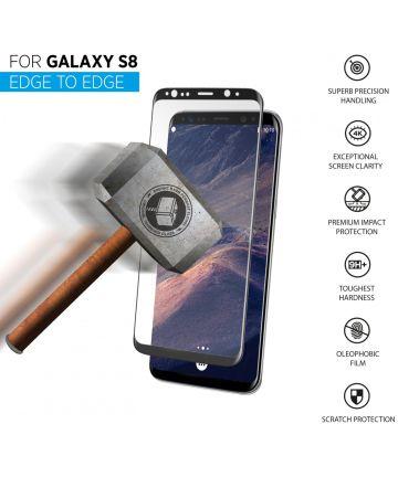 THOR Screen Glass Edge To Edge Samsung Galaxy S8 Zwart