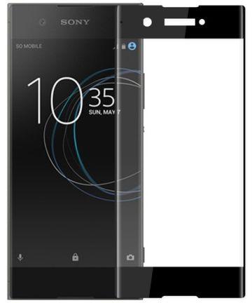 Sony Xperia XA1 Tempered Glass Screen Protector Zwart
