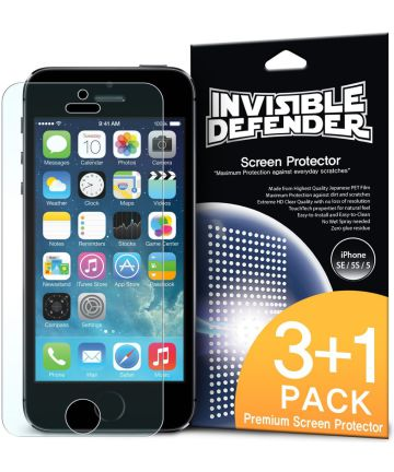 Ringke Invisible Defender voor Apple iPhone 5(S) / 5C / SE