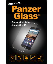PanzerGlass General Mobile GM5 Screenprotector Zwart