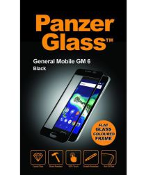 PanzerGlass General Mobile GM6 Screenprotector Zwart