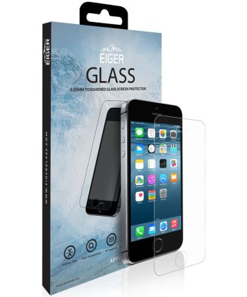 Eiger Tempered Glass Screen Protector Apple iPhone 5(S) / SE