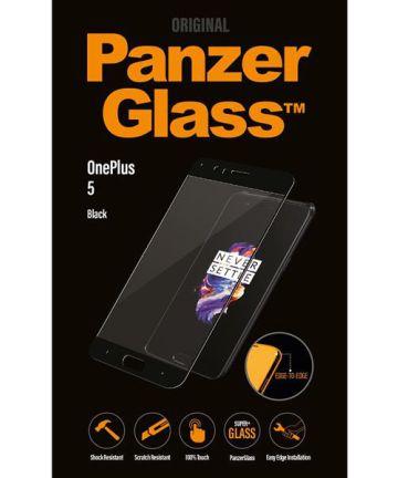 PanzerGlass OnePlus 5 Screenprotector Zwart