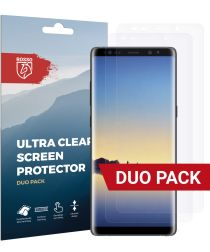 Rosso Samsung Galaxy Note 8 Ultra Clear Screen Protector Duo Pack