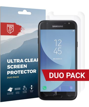 Rosso Samsung Galaxy J3 2017 Ultra Clear Screen Protector Duo Pack Screen Protectors