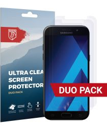 Rosso Samsung Galaxy A5 2017 Ultra Clear Screen Protector Duo Pack