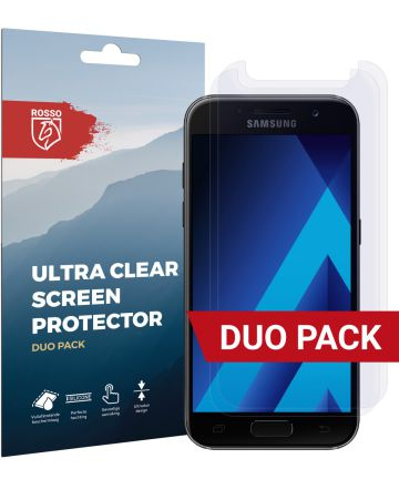 Rosso Samsung Galaxy A3 2017 Ultra Clear Screen Protector Duo Pack
