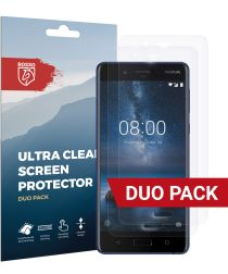 Rosso Nokia 8 Ultra Clear Screen Protector Duo Pack