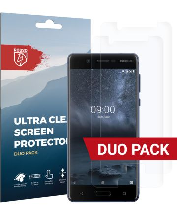Rosso Nokia 5 Ultra Clear Screen Protector Duo Pack Screen Protectors