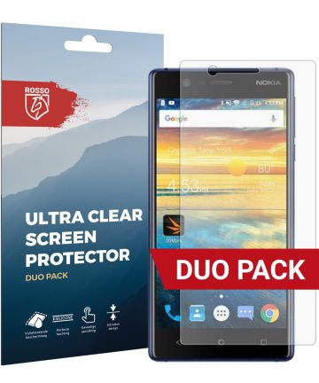 Rosso Nokia 3 Ultra Clear Screen Protector Duo Pack Screen Protectors