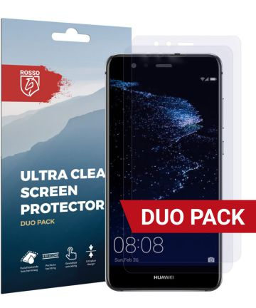 Rosso Huawei P10 Lite Ultra Clear Screen Protector Duo Pack
