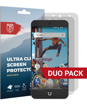 Rosso Wileyfox Swift 2X Ultra Clear Screen Protector Duo Pack