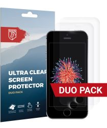 Rosso Apple iPhone 5(s)/5C/SE Ultra Clear Screen Protector Duo Pack