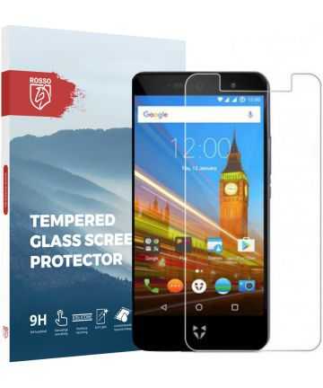 Rosso Wileyfox Swift 2X 9H Tempered Glass Screen Protector