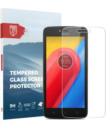 Rosso Motorola Moto C Plus 9H Tempered Glass Screen Protector