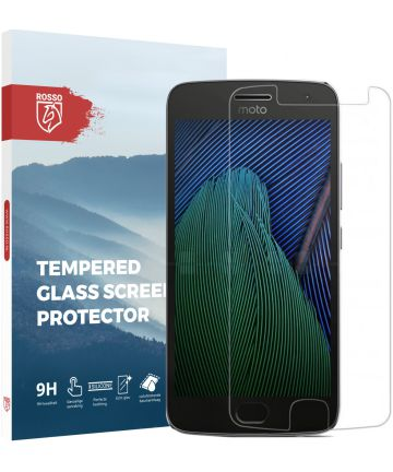 Rosso Motorola Moto G5S Plus 9H Tempered Glass Screen Protector