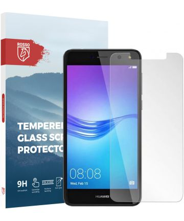Rosso Huawei Y6 2017 9H Tempered Glass Screen Protector