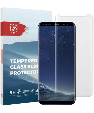 Rosso Samsung Galaxy S8 Plus Tempered Glass Screen Protector