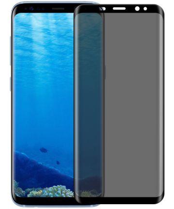 Samsung Galaxy S8 Plus Privacy Tempered Glass Zwart