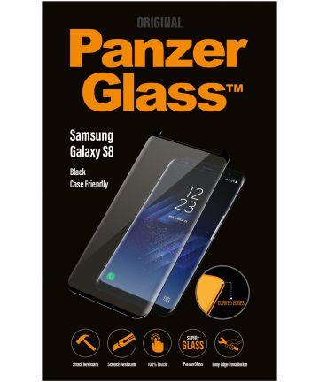 PanzerGlass Samsung Galaxy S8 Case Friendly Screenprotector Zwart